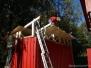 Dachbau für Holzcontainer 2011